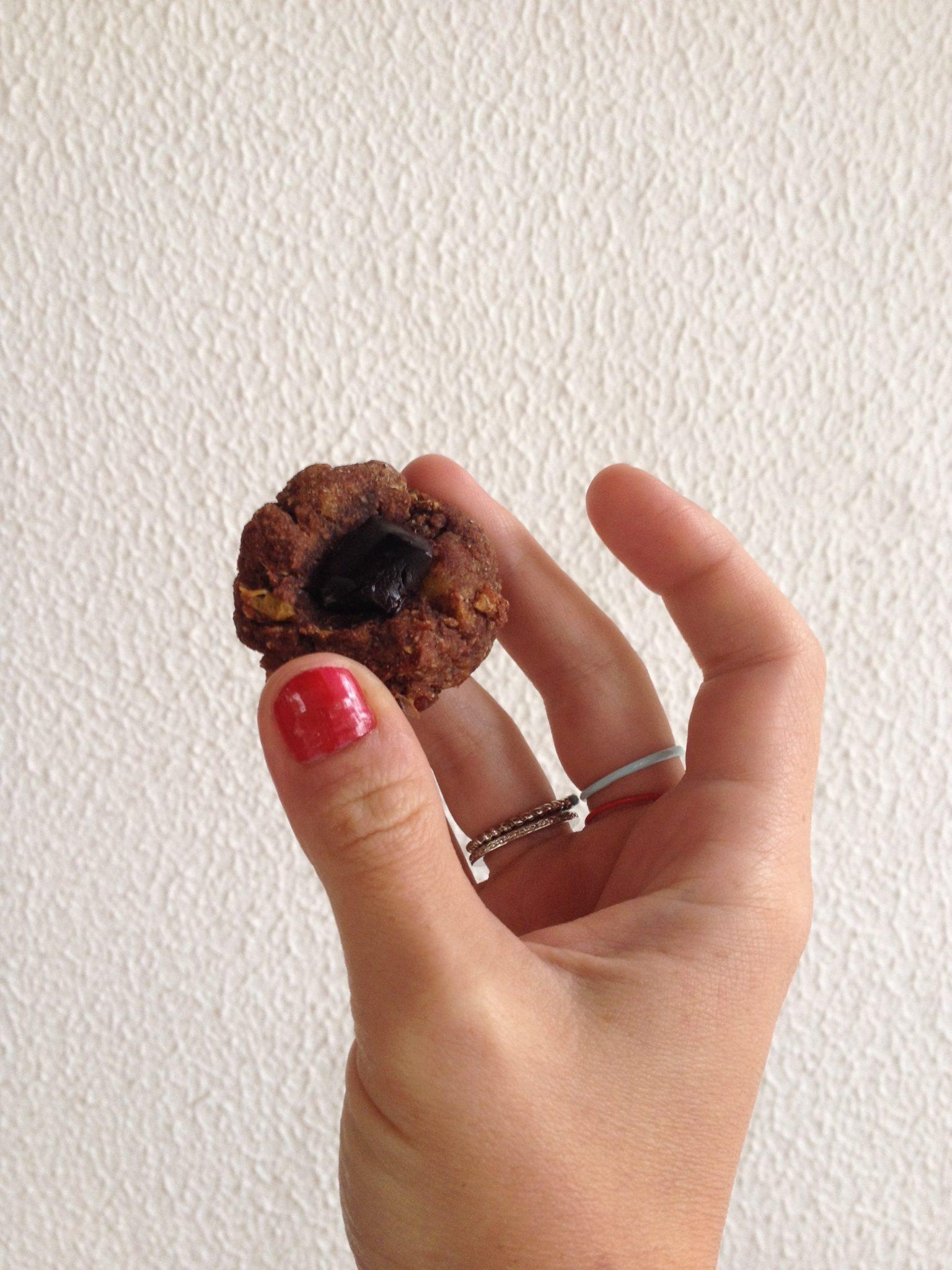 Biscoitos de cacau e batata doce – sem açúcar e sem glúten