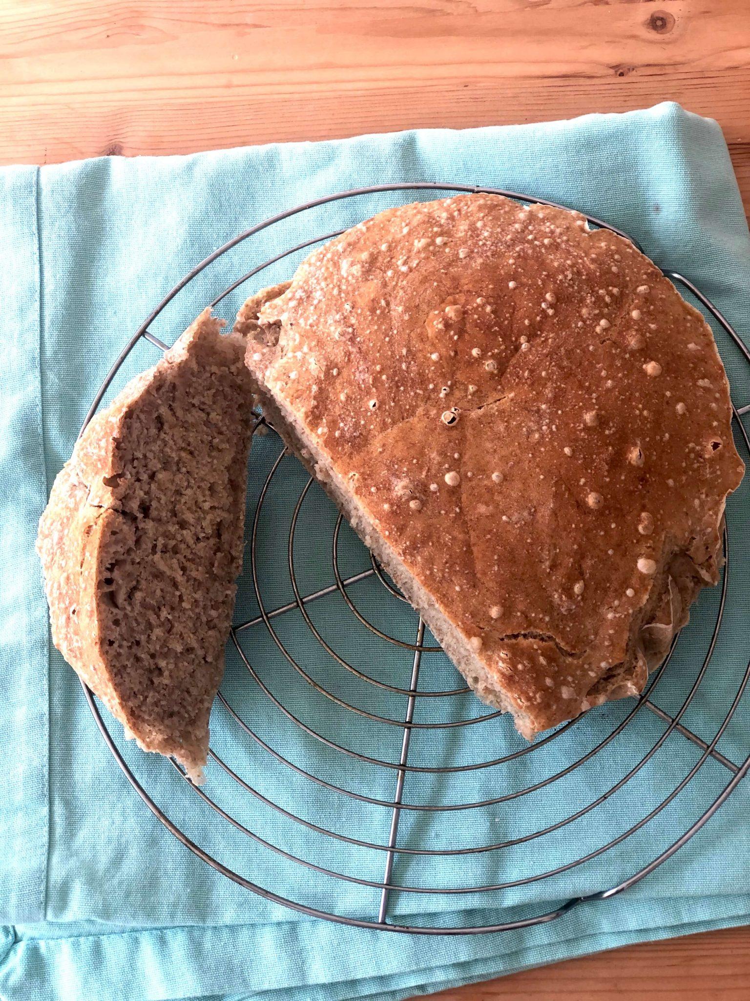 Pão sem amassar