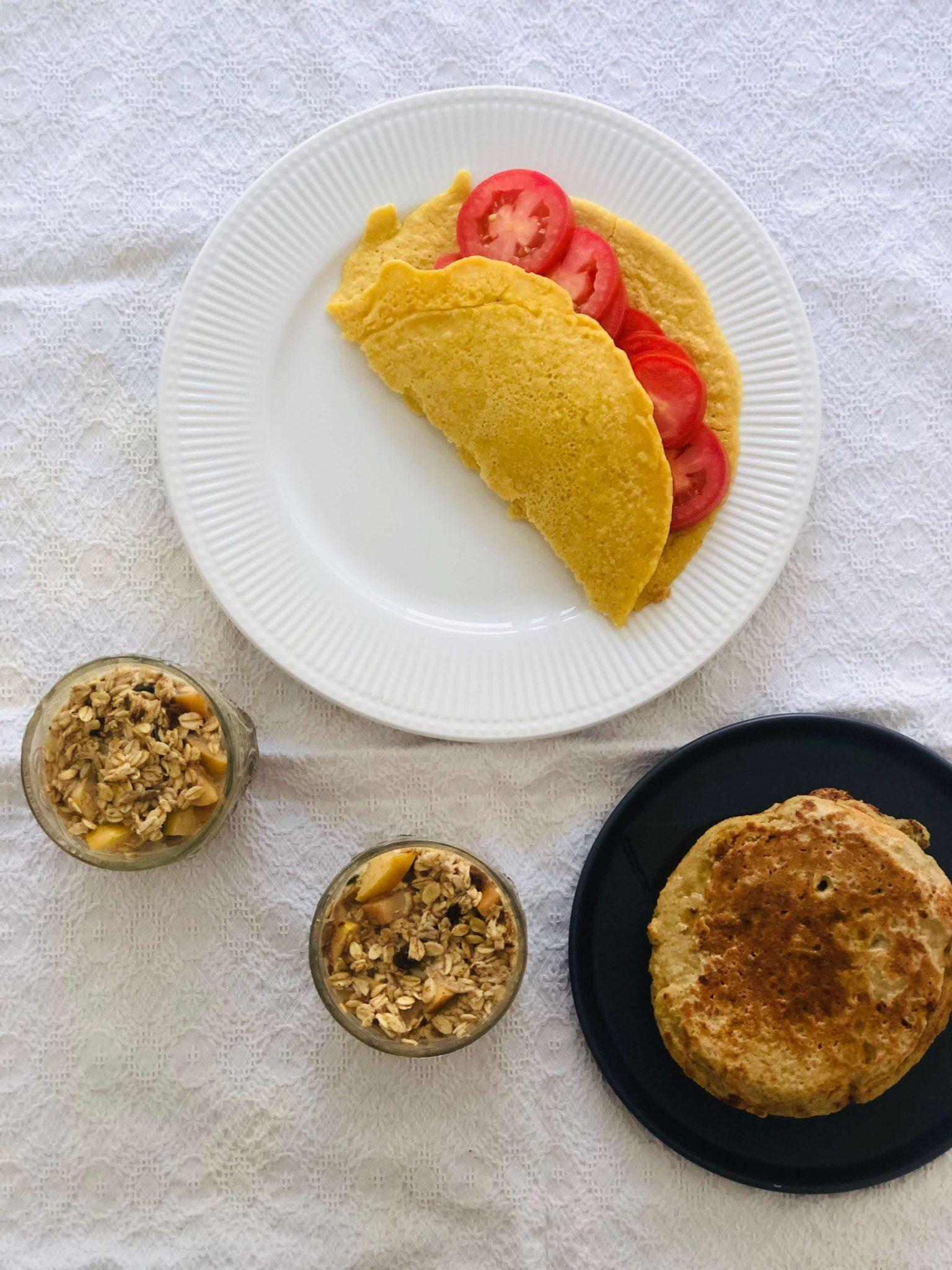 3 pequenos-almoços vegan, simples, rápidos e deliciosos (e pode preparar com antecedência!)